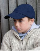 Junior Heavy Brushed Cotton Cap